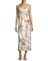 Natori Blossom Gown W Lace Inset Petal Pink Size Xx Large