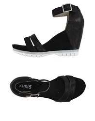 Khrio' Footwear Sandals Women Black