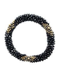Meredith Frederick 14K Gold Spinel And Labradorite Bead Bracelet
