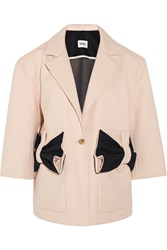 Issa Aylesworth Bow Embellished Wool Coat