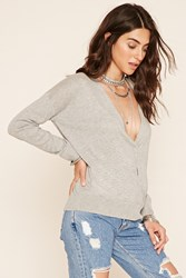 Forever 21 Surplice Knit Sweater