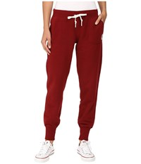 Converse Core Signature Fleece Pants Red Block Women's Casual Pants