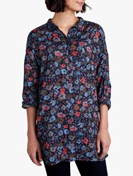 Seasalt Polpeor Shirt Scattered Flowers Magpie