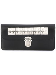 Comme Des Garcons Wallet Fold Over Wallet Black