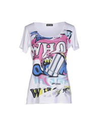 Who S Who Topwear T Shirts Women White