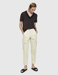 A.P.C. Avril Creased Pant Cream