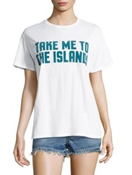 Mikoh Take Me To The Islands Cotton Tee Foam