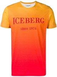 Iceberg Orange Logo T