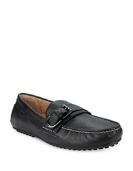 Polo Ralph Lauren Whiteley Leather Loafers Black