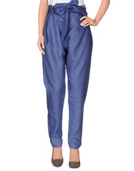Vivienne Westwood Anglomania Trousers Casual Trousers Women Pastel Blue