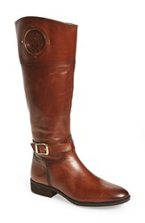 Women's Vince Camuto 'Phillie' Tall Riding Boot Rich Cognac Extended Calf