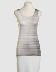 Aminaka Wilmont Tops Light Grey