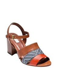 Cole Haan Anisa Leather Sandals Brown