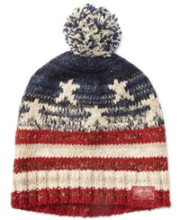 Denim And Supply Ralph Lauren Men's Pom Pom Hat Red