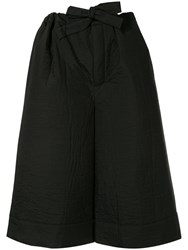 Nehera Poum Statement Padded Culottes Black