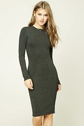 Forever 21 Heather Knit Bodycon Dress