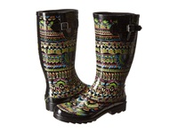 The Sak Rhythm Neon One World Women's Rain Boots Multi