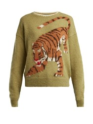 Mih Jeans X Golborne Road By Bay Garnett Tiger Sweater Multi