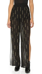 Sass And Bide Bright Future Wide Leg Pants Black