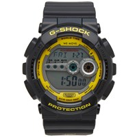 G Shock Casio X Darker Than Wax Gd 100Dtw 1Dr Watch Black