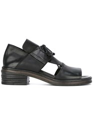 Marsell Oxford Style Sandals Black