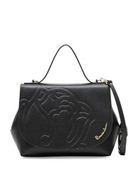 Braccialini Ninfea Satchel Bag Black