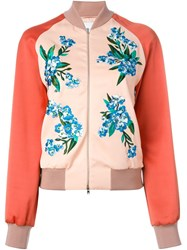 Jonathan Saunders 'Cecily' Bomber Jacket Multicolour