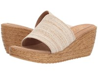 Sbicca Fairy Natural Wedge Shoes Beige