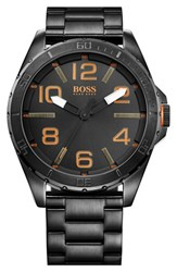 Boss Orange Men's Round Bracelet Watch 48Mm