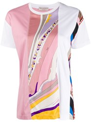 Emilio Pucci Graphic Print Panel T Shirt 60