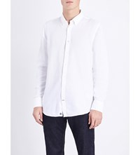 Tommy Hilfiger Amos Regular Fit Cotton Shirt Classic White