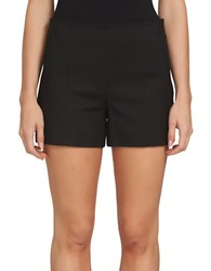 1.State Solid Flat Front Shorts Black