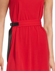 Dkny Padded Belt Red