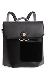 Ted Baker London Color By Numbers Leather Backpack Black