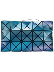 Issey Miyake Bao Bao Prism Holographic Clutch Blue