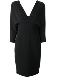 Moschino Batwing Dress Black