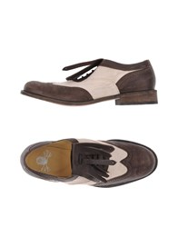 Mr Wolf Mr. Lace Up Shoes Dark Brown