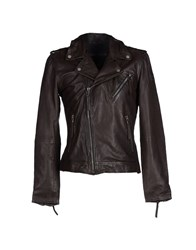 Freaky Nation Coats And Jackets Jackets Men Dark Brown