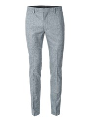 Topman Blue Jersey Ultra Skinny Fit Suit Pants