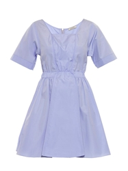 Nina Ricci Cotton Poplin Short Sleeved Dress