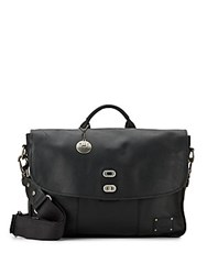 Will Leather Goods Kent Leather Messenger Bag Black