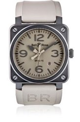 Bell And Ross Br 03 92 Commando Watch Grey