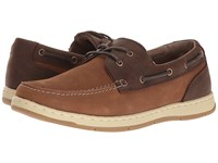 Nunn Bush Schooner Two Eye Boat Shoe Camel Brown Men's Slip On Shoes Tan