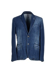 Asfalto Denim Denim Outerwear Men Blue