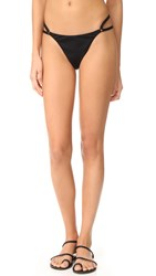 Alexander Wang Cutout Detail Bikini Bottoms Black