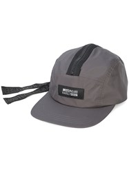 Mostly Heard Rarely Seen Rat Tail Contrast Zip Hat Grey