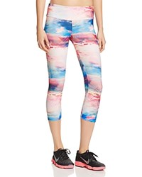Onzie Printed Capri Leggings Truth