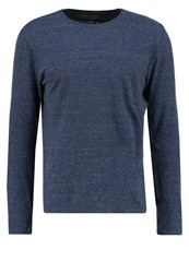 Banana Republic Long Sleeved Top Dark Blue Heather