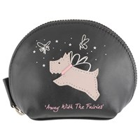 Radley Away With The Fairies Small Leather Coin Purse Black