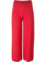 Antonio Marras Cropped Trousers Red